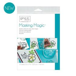 Masking Magic Sheets, Gina K Designs - 000943181231
