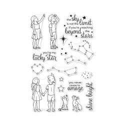 Lucky Star, Hero Arts Clear Stamps - 857009200494