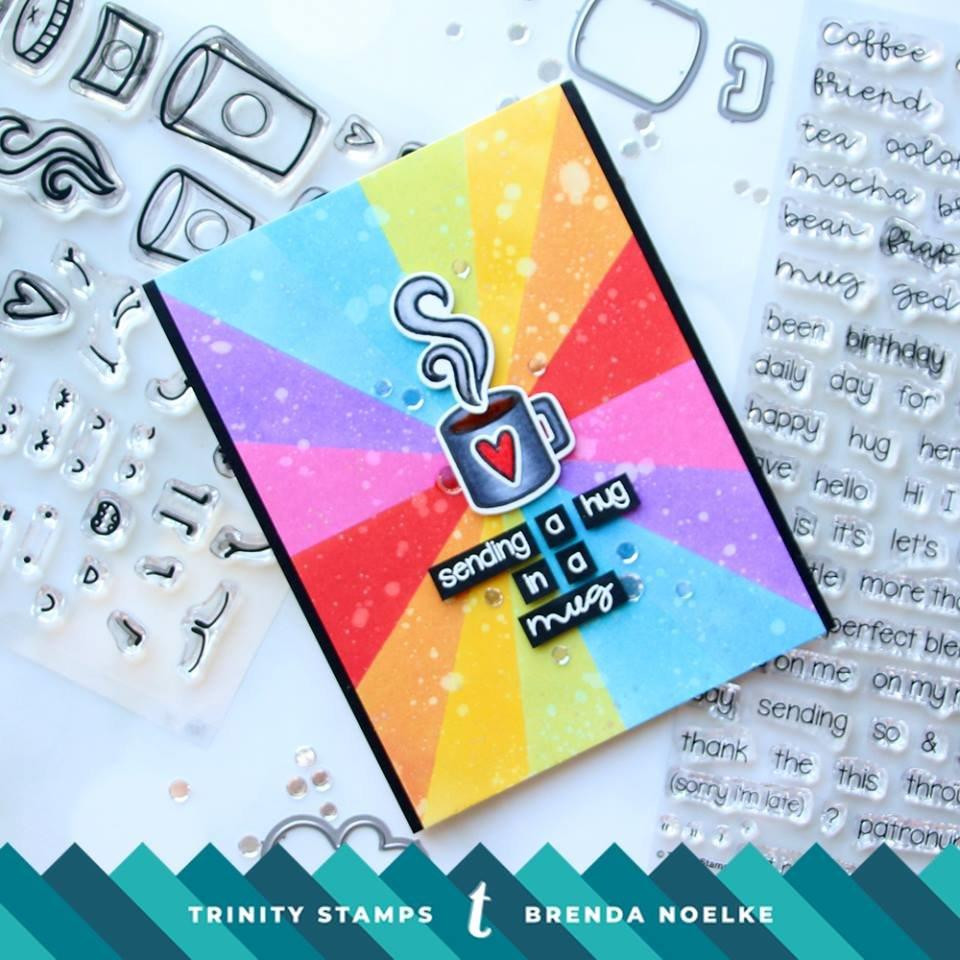 Coffee With Character, Trinity Stamps Clear Stamps -