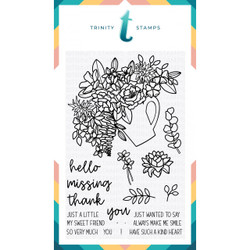 Hello Sweet Friend, Trinity Stamps Clear Stamps -