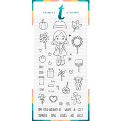 Seasonal Sweetheart, Trinity Stamps Clear Stamps -