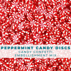 Peppermint Candy Disk, Trinity Stamps Embellishments -