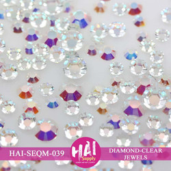 Diamond Clear Rhinestone, HAI Sequins -