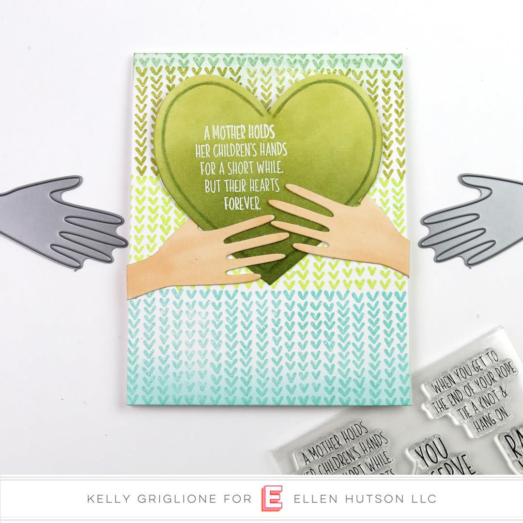 Hang On By Julie Ebersole, Essentials By Ellen Clear Stamps -