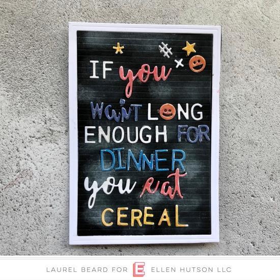 Letterboard Script 1, Essentials By Ellen Designer Dies -