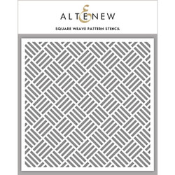 Square Weave Pattern, Altenew Stencils - 704831295252
