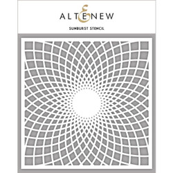 Sunburst, Altenew Stencils - 704831295269