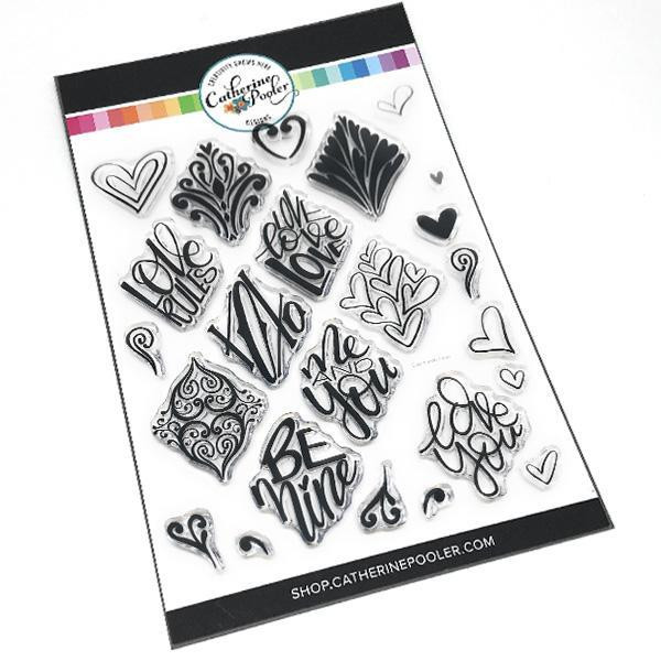 Say It With Love, Catherine Pooler Clear Stamps - 819447022809