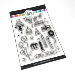 Birthday Icons, Catherine Pooler Clear Stamps - 819447022755