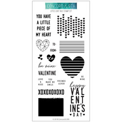 Little Love Tags, Concord & 9th Clear Stamps - 902223997160