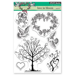 Love In Bloom, Penny Black Clear Stamps - 759668305223