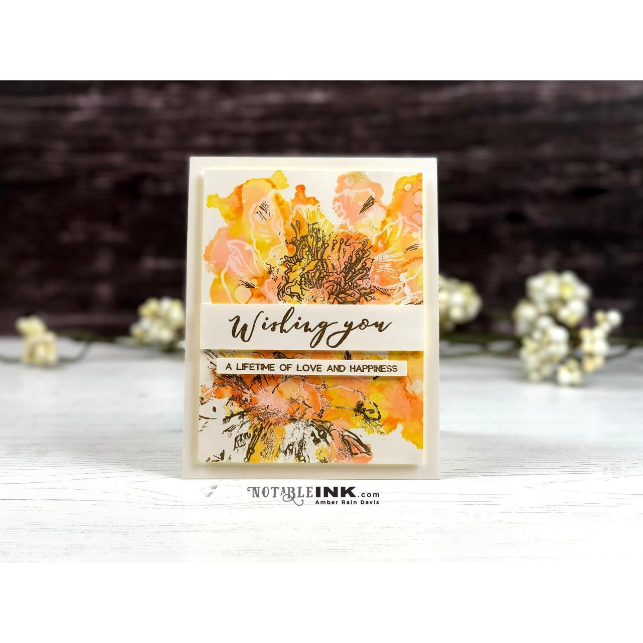 Engagement Wishes, Altenew Clear Stamps - 704831296112