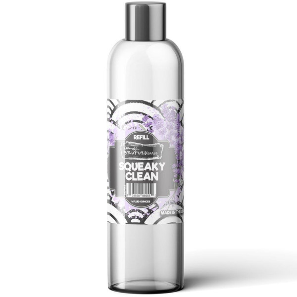 Squeaky Clean Refill - 4 oz, Brutus Monroe Stamp Cleaner - 703558969552