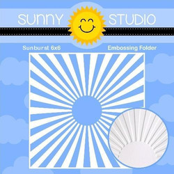 Sunburst, Sunny Studio Embossing Folder - 797648686795