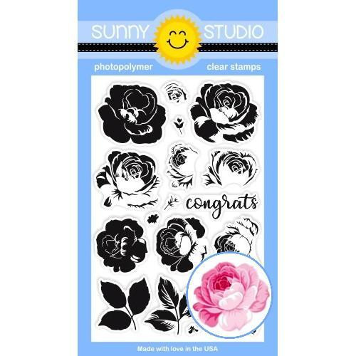 Everything's Rosy, Sunny Studio Clear Stamps - 797648686832