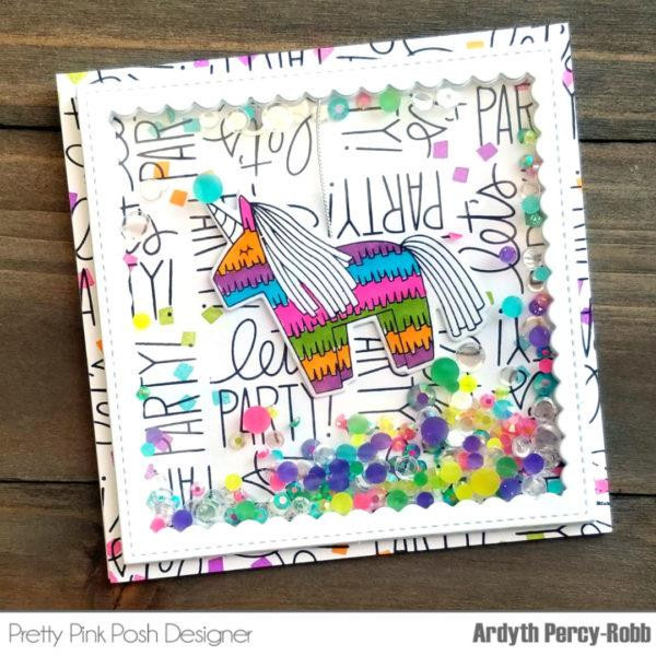 Pinata Party, Pretty Pink Posh Clear Stamps -