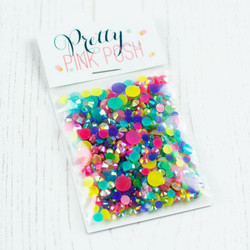 Party, Pretty Pink Posh Jewel Mix -