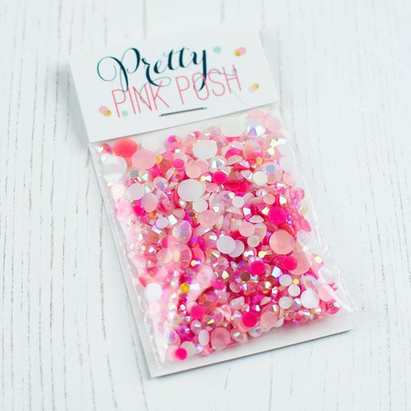 Valentine, Pretty Pink Posh Jewel Mix -