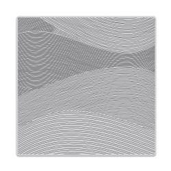 Ocean Waves Bold Prints, Hero Arts Cling Stamps - 857009205826