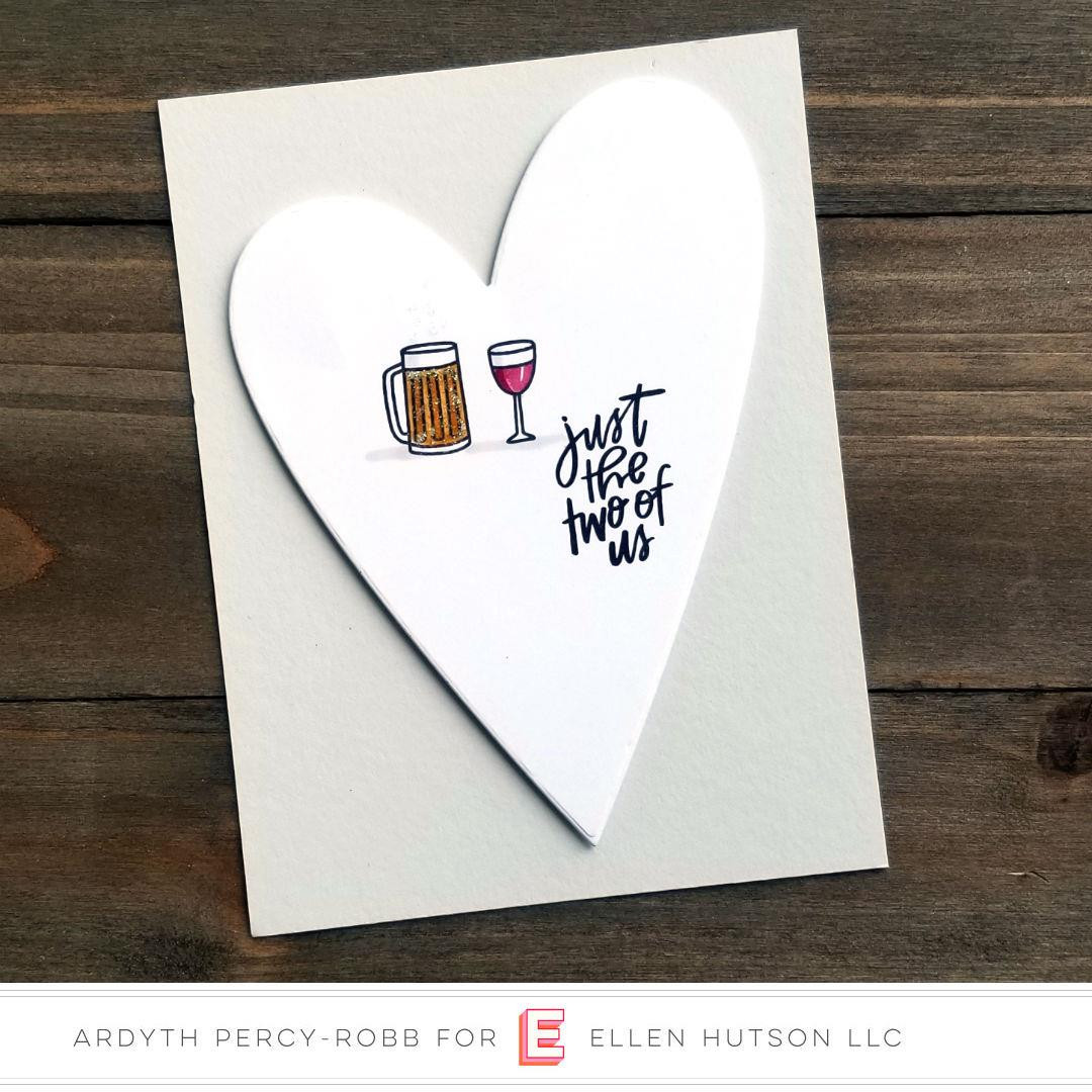 It's A Date By Brandi Kincaid, Essentials By Ellen Clear Stamps -