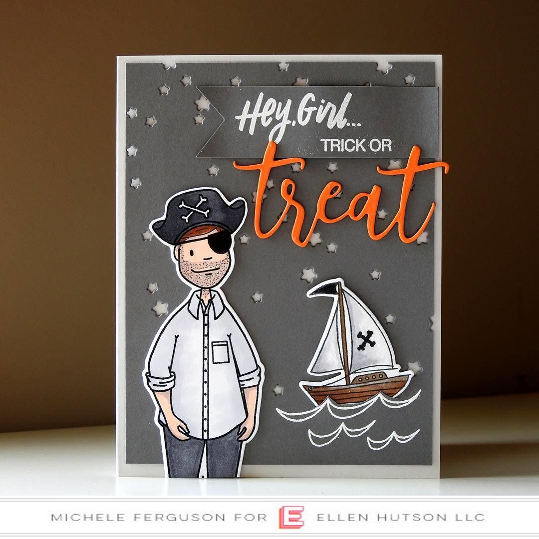 Leading Ladies - Leading Gentleman By Brandi Kincaid, Essentials By Ellen Clear Stamps -