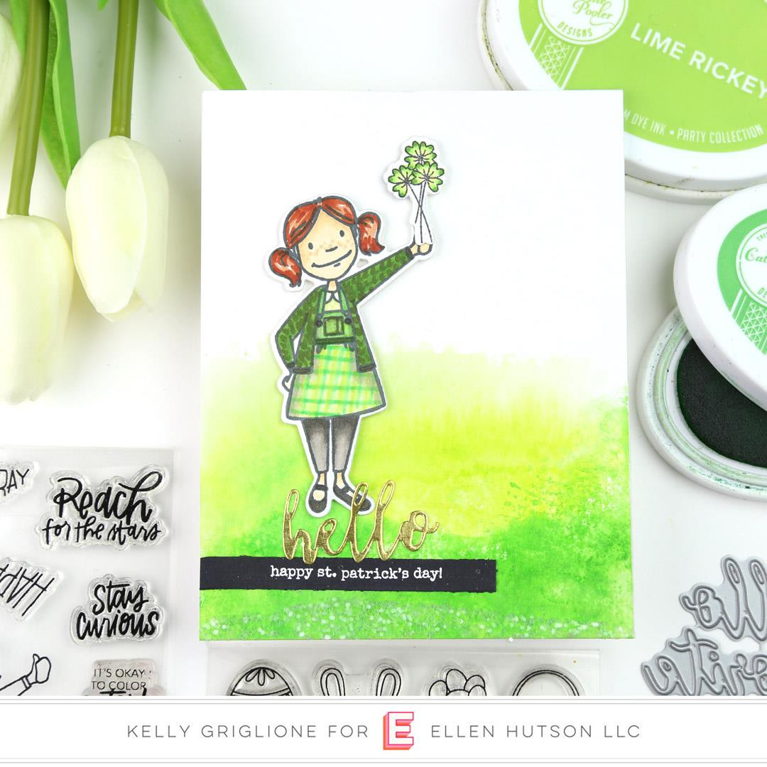 Leading Ladies - Little Lady By Brandi Kincaid, Essentials By Ellen Clear Stamps -