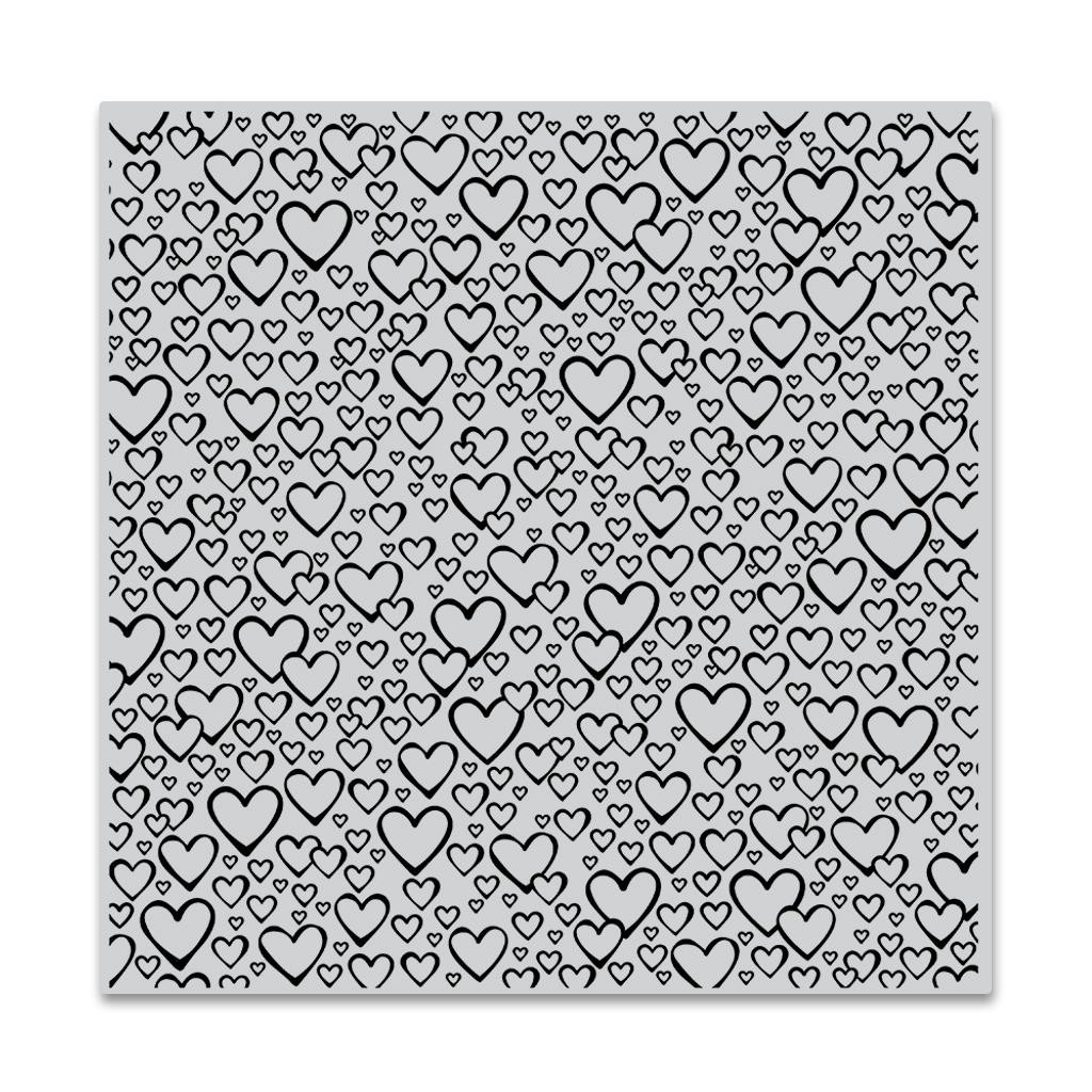 Bursting With Love Bold Prints, Hero Arts Cling Stamps - 857009206052