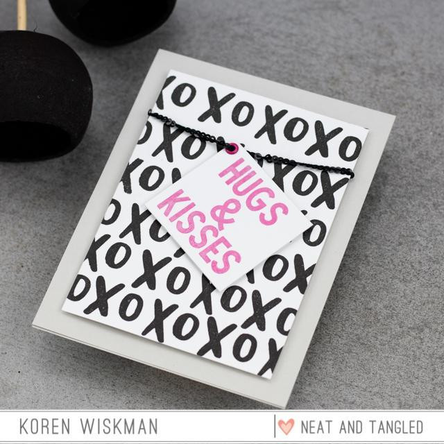 Just Because, Neat & Tangled Clear Stamps -