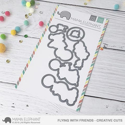 Flying With Friends, Mama Elephant Creative Cuts -