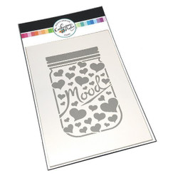 Mood Jar, Catherine Pooler Stencils -