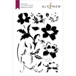 Angelique Motifs, Altenew Clear Stamps - 704831297096
