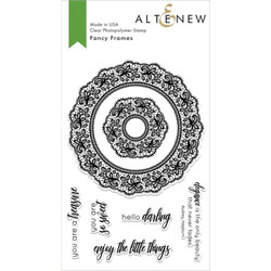 Fancy Frames, Altnew Clear Stamps - 704831297232