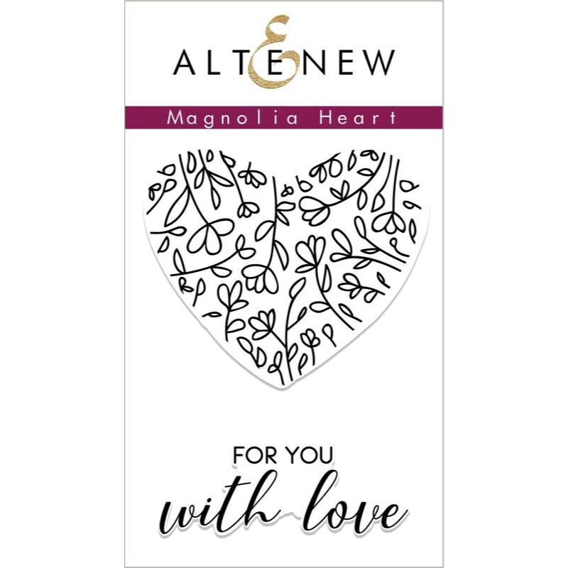 Magnolia Heart, Altnew Clear Stamps - 704831297270