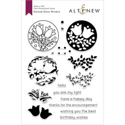 Stained Glass Window, Altnew Clear Stamps - 704831297362