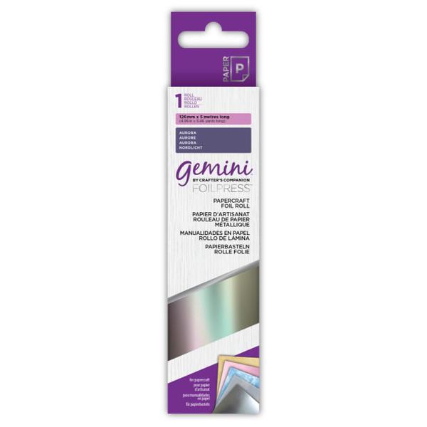 Aurora, Gemini FoilPress Papercraft Foil Rolls - 709650879461