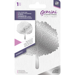 Blooming Tree, Gemini FoilPress Foil Stamp Die - 709650877337