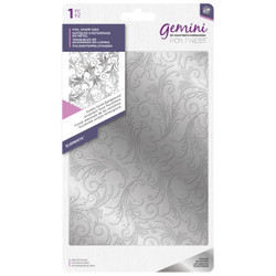 Ornate Swirls Background, Gemini FoilPress Foil Stamp Die - 709650877450