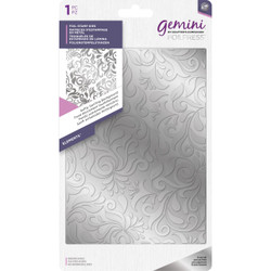 Softly Swirling Background, Gemini FoilPress Foil Stamp Die - 709650882171