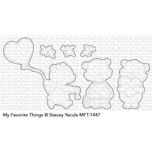 Joyful Heart Bears, My Favorite Things Die-Namics - 849923029688