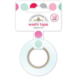 Delightful Dots, Doodlebug Washi Tape -
