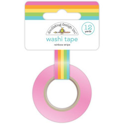 Rainbow Stripe, Doodlebug Washi Tape -