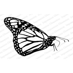 Monarch, Impression Obsession Cling Stamps -