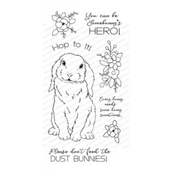 Sweet Bunny, Impression Obsession Clear Stamps -