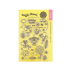 Little Fairies, Waffle Flower Clear Stamps -
