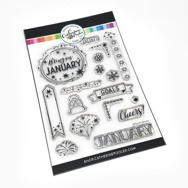 Bring On January, Catherine Pooler Clear Stamps -