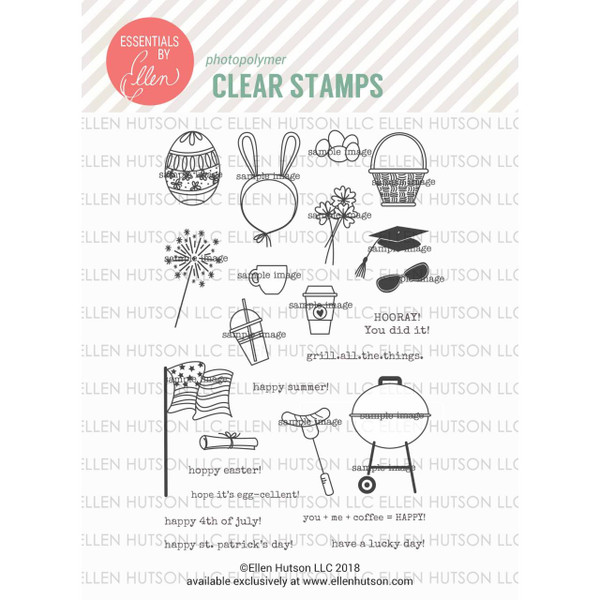 Bear Ware 3 by Julie Ebersole, Essentials by Ellen Clear Stamps -