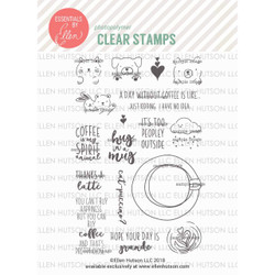 Latte Love by Julie Ebersole, Essentials by Ellen Clear Stamps -