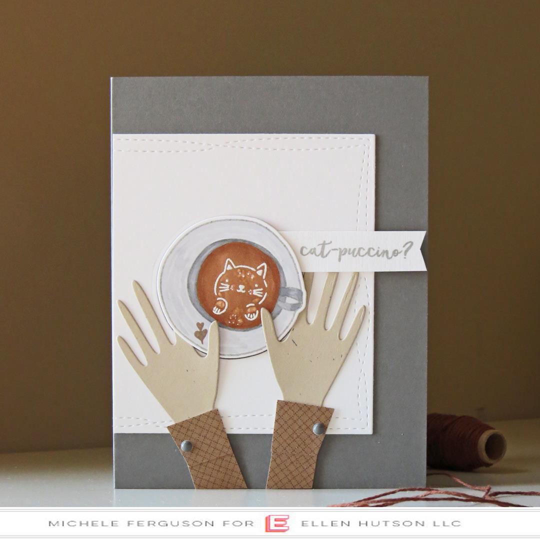 Latte Love by Julie Ebersole, Essentials by Ellen Clear Stamps -