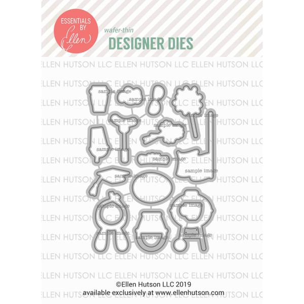 Bear Ware 3 by Julie Ebersole, Essentials by Ellen Designer Dies -