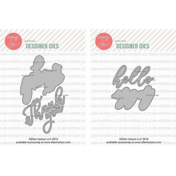 Big Scripty Dies by Julie Ebersole, Essentials by Ellen Die Combo -